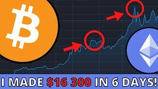 How I Made $16 300 In 6 Days Trading Crypto (Bitcoin & Ethereum)