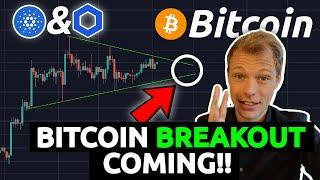 BITCOIN BREAKOUT COMING ?!?!? IS IT TIME FOR ALT-COINS ?!?? CHAINLINK AND CARDANO ANALYSIS