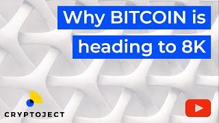 BITCOIN: WHY 8K IS IMMINENT l Cryptocurrency Market Analysis
