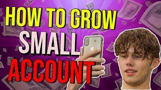 How To Grow a Very SMALL Forex Account! + Tips and Tricks