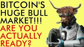 BITCOIN & CRYPTO BULL MARKET! ARE YOU ACTUALLY READY FOR THIS? 5 TIPS YOU NEED TO HEAR TODAY