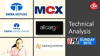 Multi Time Frame Technical Analysis of 5 stocks (Viewers' Choice) by D K Sinha #TechnicalAnalysis