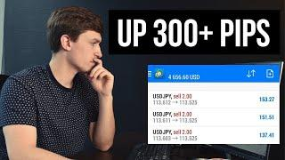How I Made +300 Pips with ONE Forex Trade | Riding a HUGE USD/SGD Trend!