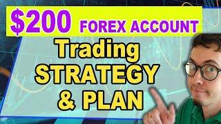 How to Start Forex trading with $200 | Small Forex trading account