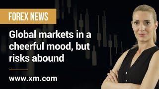 Forex News: 25/01/2021 - Global markets in a cheerful mood, but risks abound