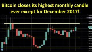 Bitcoin's highest monthly candle close in 2.5 years!