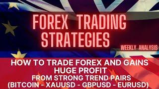 Forex Trading Strategies How to trade Forex and Gains Huge Profit in Bitcoin XAUUSD GBPUSD EURUSD