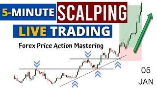 Live Intraday 5-Minute Price Action Trading    Forex Price Action Day Trading    Trade Like A Pro