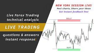 LIVE Forex Trading Analysis - NY Session 1st September 2020 XAUUSD Gold Trading