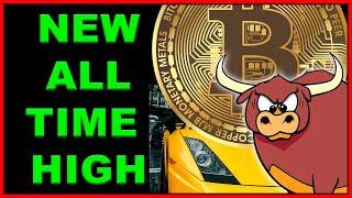 Bitcoin NEW All Time High!! What's Next?