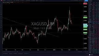 Live Trading & Chart Analysis - Bitcoin, Forex, Stock Market, Gold & Silver - February 4, 2021