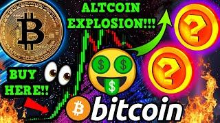 WOW!!! BITCOIN $15,000,000 SELL WALL!!! TOP 2 ALTCOIN PICKS for MASSIVE GAINS