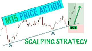 A Zero To A Million 15 Minute Scalping Trading Strategy    Pure Price Action    Trade Like A Pro