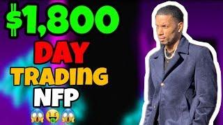 FOREX TRADER MAKES $1,800 IN ONE DAY TRADING NFP | FOREX TRADING 2020