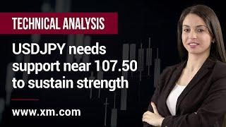 Technical Analysis: 01/07/2020 - USDJPY needs support near 107.50 to sustain strength