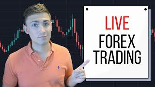 Live Forex Trading & Top Trade Ideas for 2021! (Come say Hi!)
