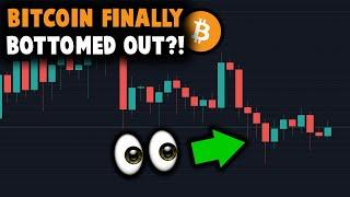WOW! BITCOIN FINALLY BOTTOMED OUT!!!? - Don't Ignore These Signs! - Bitcoin Price Analysis