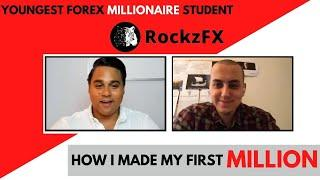 Youngest Millionaire Student: How I Made My First Million At 19 Learning to Trade Forex
