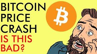BITCOIN PRICE CRASH! WTF? IS THIS BAD? BIG MONEY BUYING CRYPTO