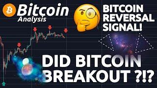 DID BITCOIN BREAKOUT ?!?! IMPORTANT CHART FOR BITCOIN!!! BITCOIN REVERSAL DATE ASTROLOGY!!!
