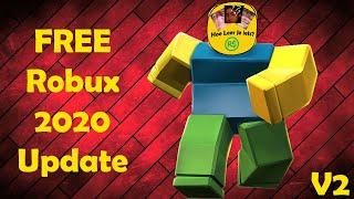HOW TO GET FREE ROBUX IN 2020! 2020 UPDATE!