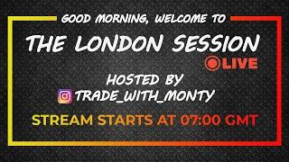 THE LONDON SESSION LIVE Forex Trading - LONDON, Tue, Oct 6th (Free Education)