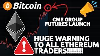 HUGE WARNING TO ALL ETHEREUM TRADERS!!! (Bitcoin breaking out!)