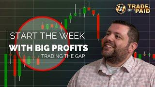 FOREX - How To Start Your Week With BIG PROFITS! - Trading Market Gaps - Forex Strategy